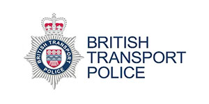 image of the British transport police logo for MTI's clients