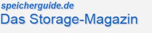 speicherguide storage magazine logo for Germany PR